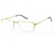 Occhiale diottrie +2,50 mod. Titan verde in metallo Lookkiale - Z14003