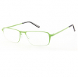 Occhiale diottrie +3,50 mod. Titan verde in metallo Lookkiale - Z14005