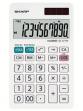 Calcolatrice da tavolo EL 377W , 10 cifre, doppia alimentazione, bianca - Z14626