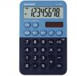 Calcolatrice tascabile EL 760R, 8 cifre, 2 colori design, azzurro - blu - Z14627