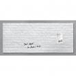 Lavagna magnetica in vetro 55x130cm pietra bianca artverum® sigel - Z15160