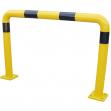 Barriera di protezione in pu giallo/nero - Z15259